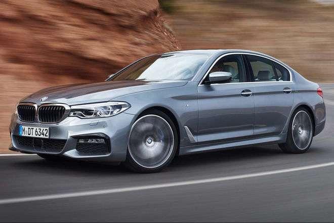 520d fronte - BMW 520D BUSINESS