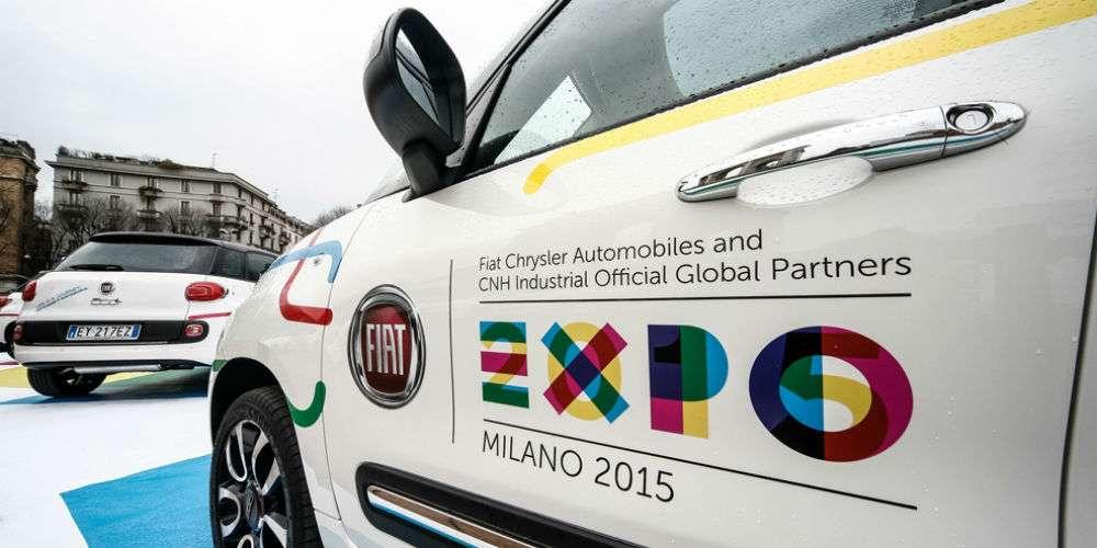 fca expo milano 2015 - FCA noleggio a lungo termine per EXPO 2015