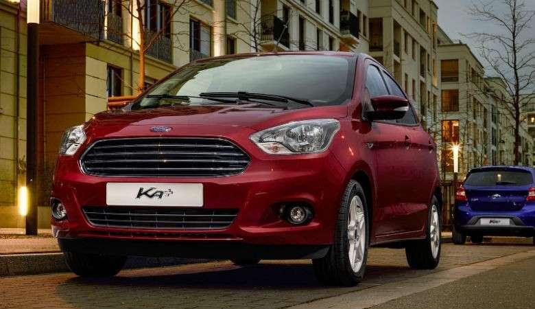 ford ka - Ford Ka+ 1.2 TI-VCT