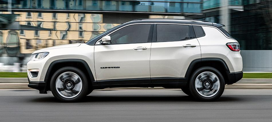 nuova jeep compass laterale - JEEP COMPASS LIMITED 1.6 MULTIJET 120CV