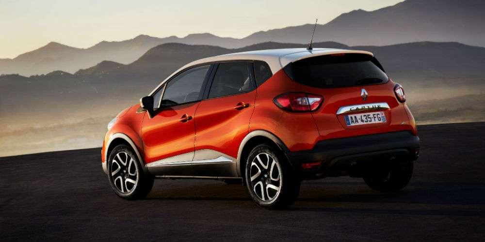 Nuova Renault Captur per il noleggio a lungo termine