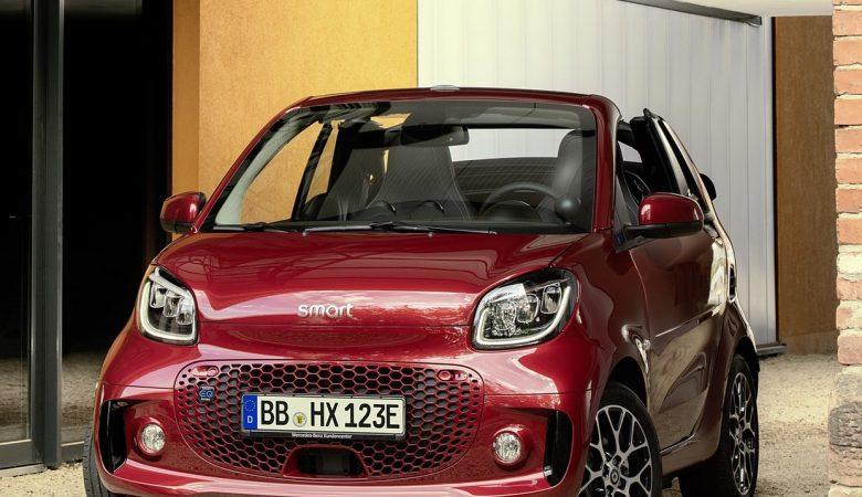 2020 smart eq fortwo 30 1600x1200 780x450 - SMART FORTWO EQ 60kW passion fortwo cabrio 3