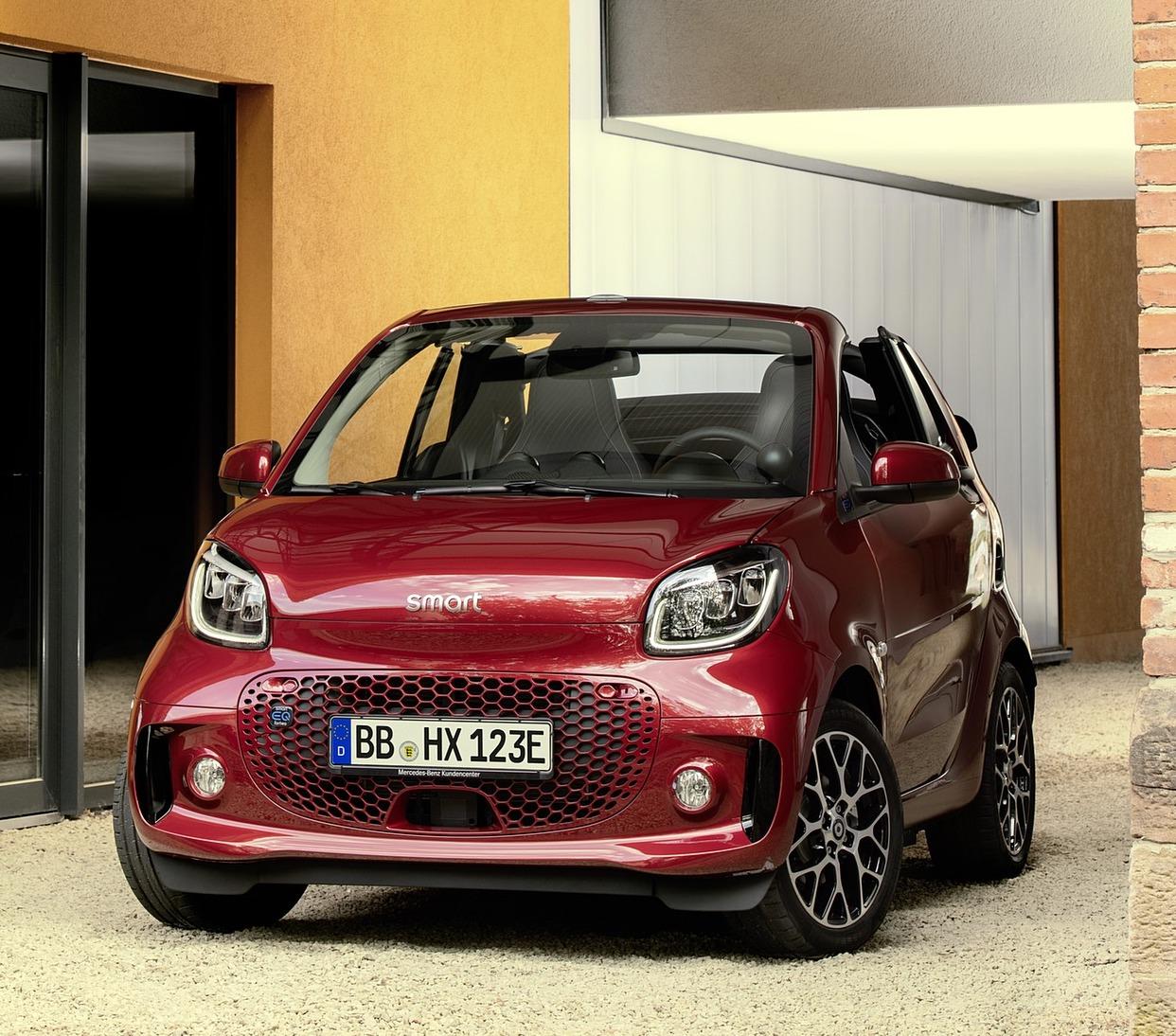 2020 smart eq fortwo 30 1600x1200 - SMART FORTWO EQ 60kW passion fortwo cabrio 3